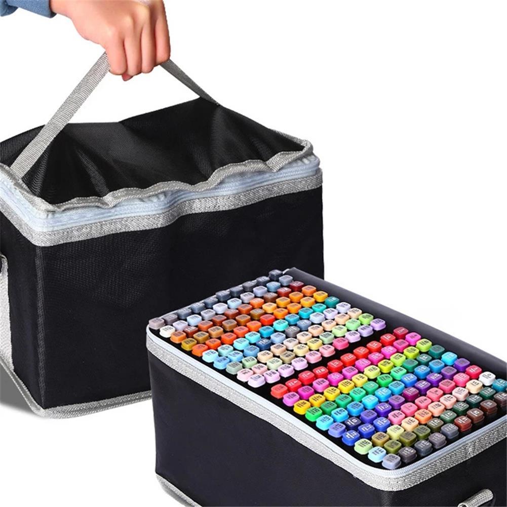 marker 30/40/60/80 Colors Marker Set Dual Head Oily Alcoholic Graffiti Sketch Marker Brush Pen Drawing Art Supplies HOB1760686 1