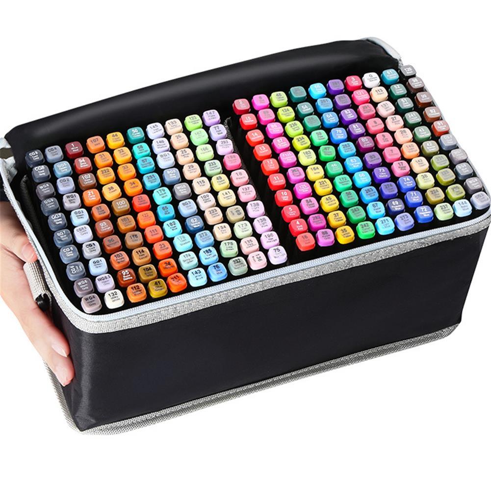 marker 30/40/60/80 Colors Marker Set Dual Head Oily Alcoholic Graffiti Sketch Marker Brush Pen Drawing Art Supplies HOB1760686 1 1