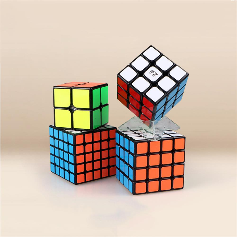 other-learning-office-supplies QiYi 4pcs Magic Cube Set 2x2 3x3x3 4x4x4 5x5x5 Speed Cube for Brain Training Children's Education Competition Toys HOB1760709 3 1