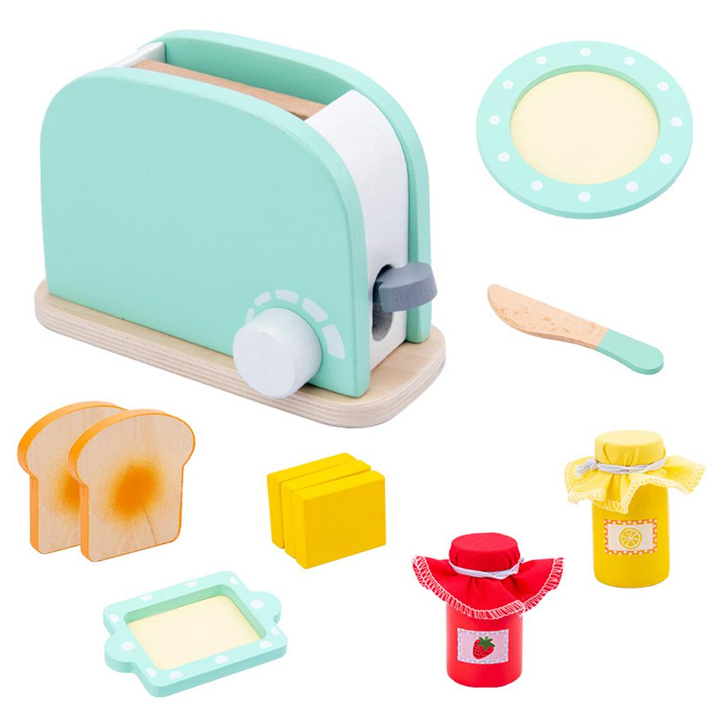 other-learning-office-supplies Baby Wooden Kitchen Toy Machine Food Mixer for Kids Pretend Play Educational Toy Children Party Decoration Birthday Gift HOB1760863 1 1