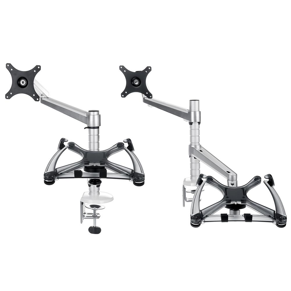 monitor-arms-stands OA-7X/OA-7 Notebook Monitor Arms Stand LCD Aluminum Alloy Computer Stands Bracket Dual Purpose Home office Supplies HOB1762039 2 1