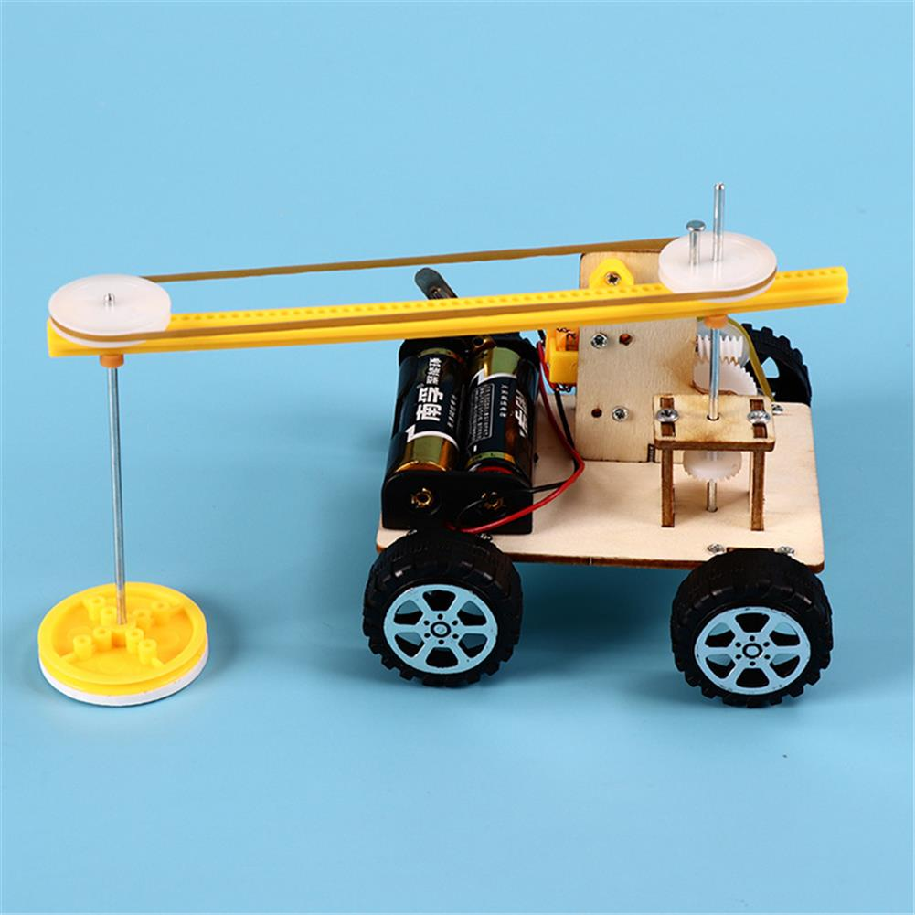 other-learning-office-supplies DIY Smart Stem Science Kit Sweeper Robot Technology Production Floor Sweeping Machine Experiment Learning Education Toy HOB1762240 2 1