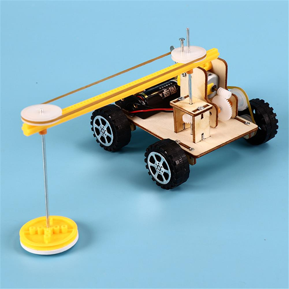other-learning-office-supplies DIY Smart Stem Science Kit Sweeper Robot Technology Production Floor Sweeping Machine Experiment Learning Education Toy HOB1762240 3 1