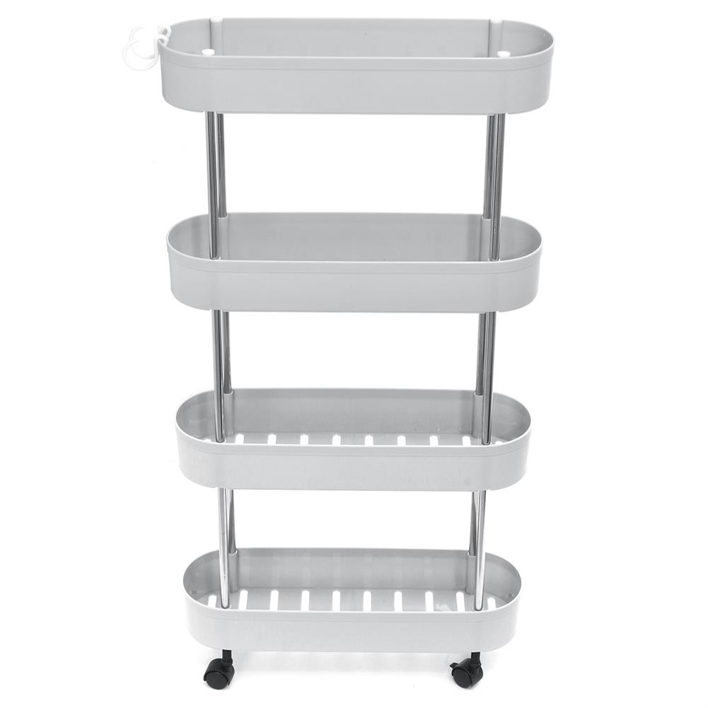 book-stands Multi-Layer Storage Cart Kitchen Bathroom Living Room Gap Storage Rack Trolley Organizer Tableware Holder Fruit Vegetable Shelves HOB1764525 1 1