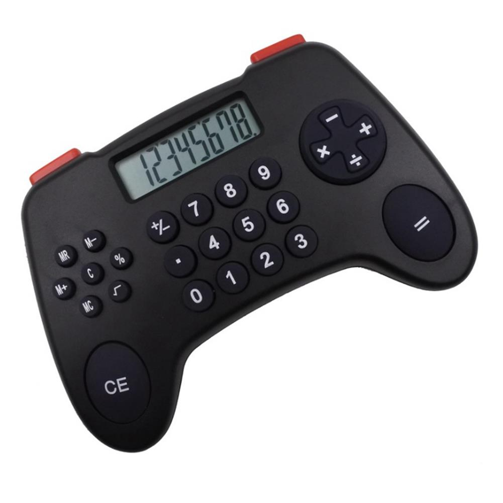 calculator 8 Digital Display Calculator Gamepad Shape Financial Business Accounting Tool Children office Calculator Supplies HOB1764599 1