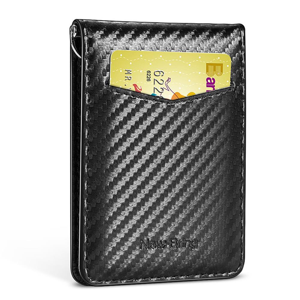 business-card-book NewBring Card Holder RFID Block Driver License Cash Cardholder Wallet Money Clip Business Credit Cardholder HOB1765813 1