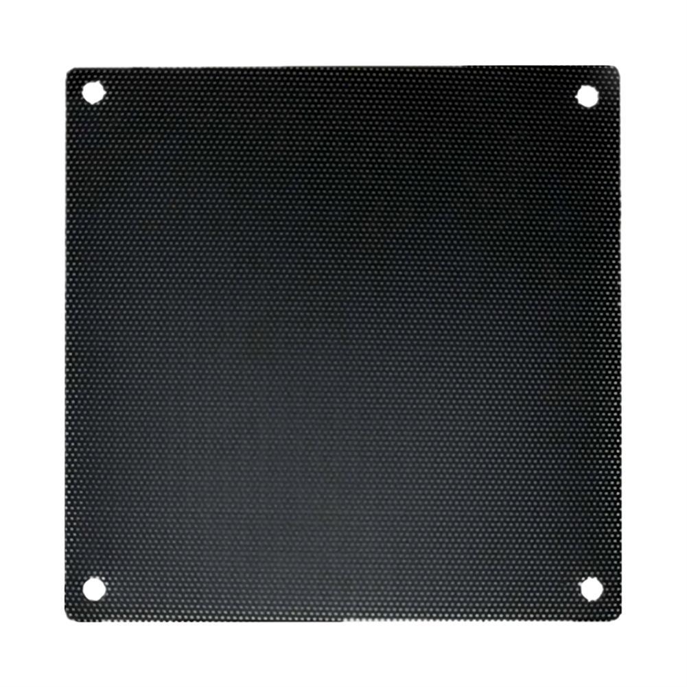 fans-cooling Lindo Zone Computer Fan Dust-proof Net Computer Case Cooler Fine Black PVC Dust Filter Mesh Net Cover for PC Case HOB1766088 1
