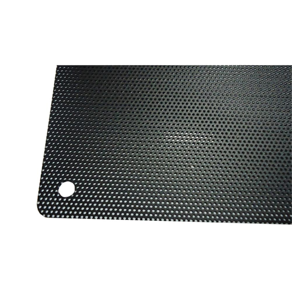 fans-cooling Lindo Zone Computer Fan Dust-proof Net Computer Case Cooler Fine Black PVC Dust Filter Mesh Net Cover for PC Case HOB1766088 3 1