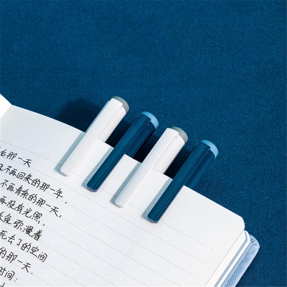 gel-pen Deli A624 0.5mm Gel Pen Set Smooth Writing Black Refill Ballpoint Pen Stationery School Students office Writing Supplies HOB1766213 2 1