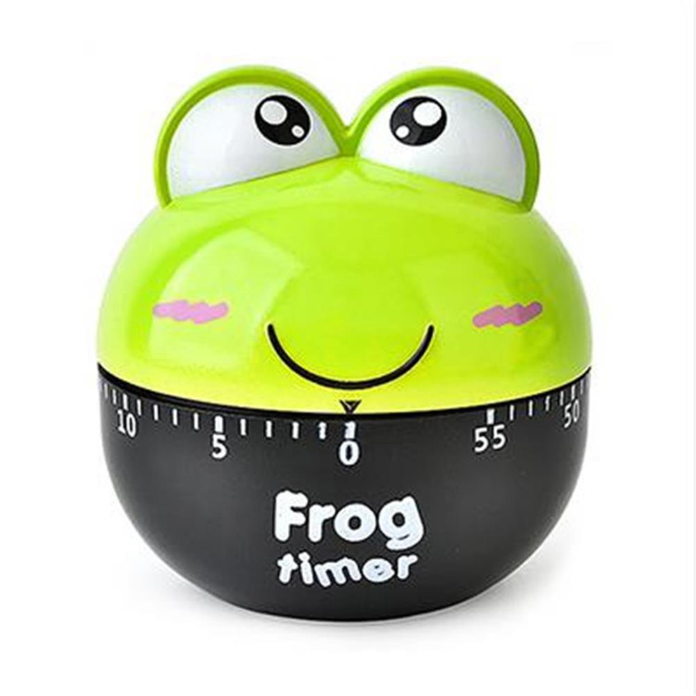 desktop-off-surface-shelves Frog Mechanical Timer Cartoon Creative Cute Kitchen Cooking Student Learning Test Timer for for Shop Home Kitchen Gadget HOB1766459 1