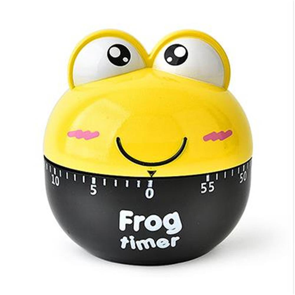 desktop-off-surface-shelves Frog Mechanical Timer Cartoon Creative Cute Kitchen Cooking Student Learning Test Timer for for Shop Home Kitchen Gadget HOB1766459 1 1