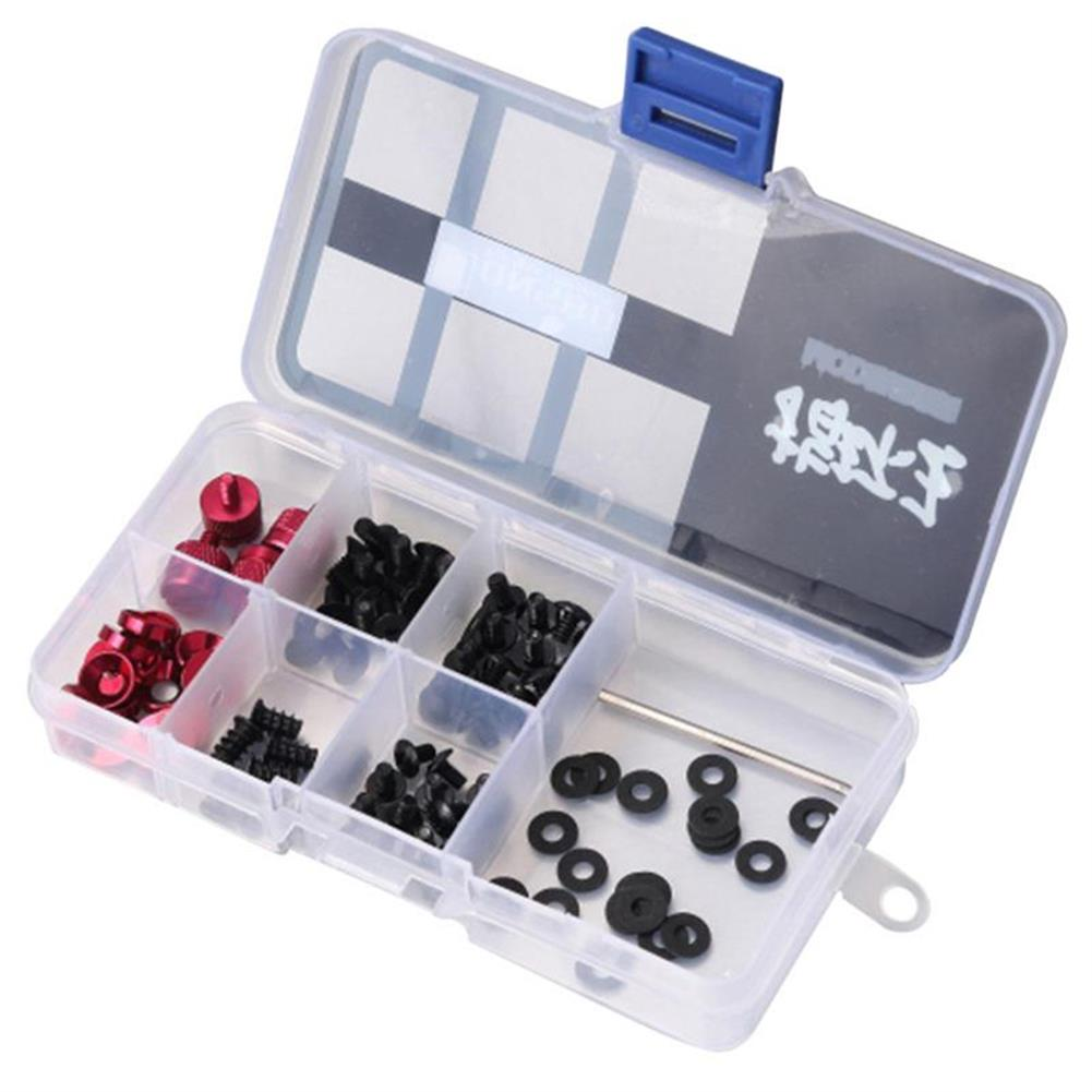 pc-gadgets JONSBO 95Pcs Mod Screw Set PC DIY Motherboard Power Supply Optical Hard Drive Computer Cooling System Accessories HOB1767078 2 1
