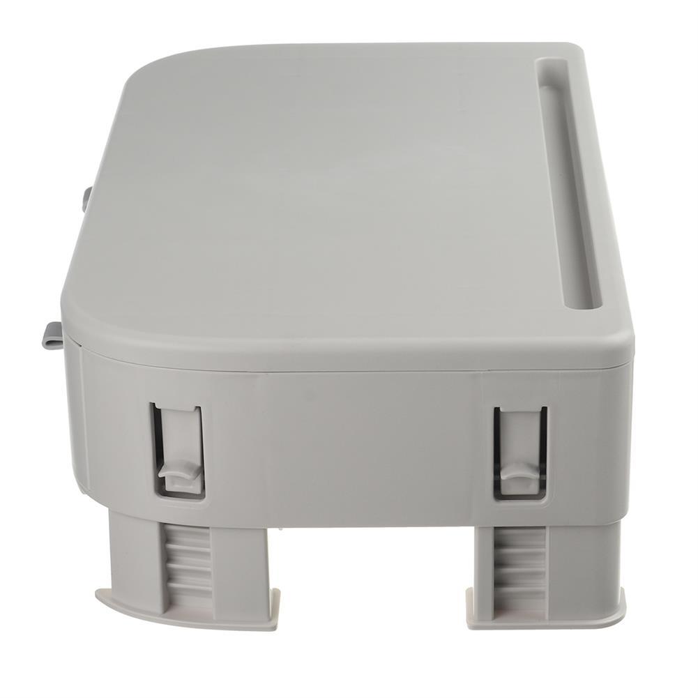 desktop-off-surface-shelves Computer Monitor Riser Height Adjustable Desktop LED LCD Monitor Support Stand Holder with 2 Storage Drawers & Tablet Slot HOB1767421 3 1