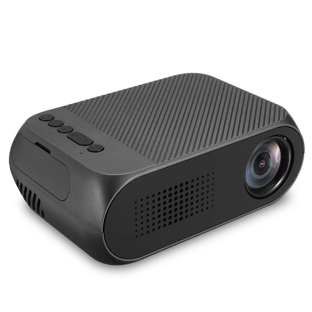 projectors-theaters YG320 TFT LCD Projector HD 1080P LED Projector Multiple Ports Built-in Speaker Portable Smart Home theater Projector with Remote Control HOB1767920 1