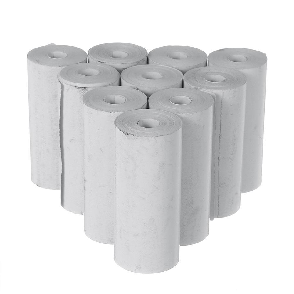 thermal-fax-paper 10 Rolls 57x25mm thermal Printer Papers for Paperang PeriPage thermal Printer HOB1769026 1