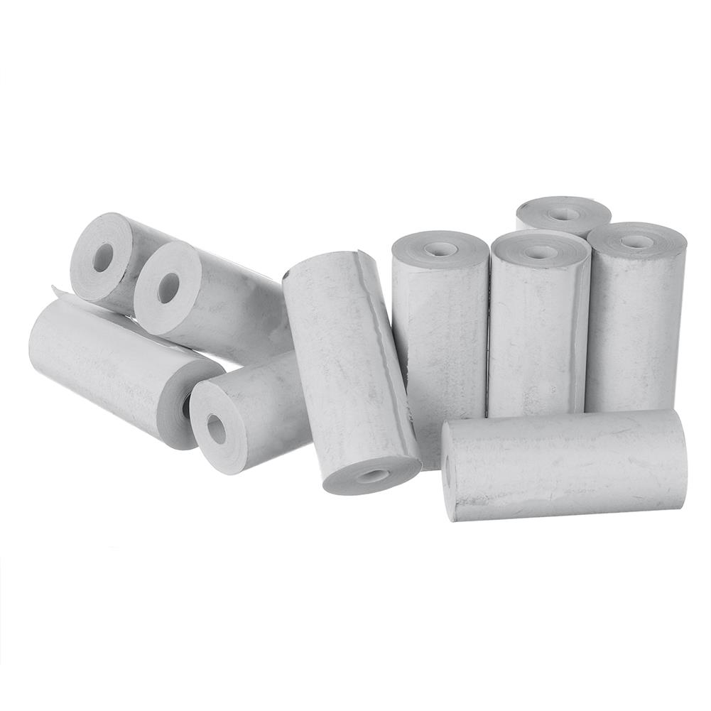 thermal-fax-paper 10 Rolls 57x25mm thermal Printer Papers for Paperang PeriPage thermal Printer HOB1769026 1 1
