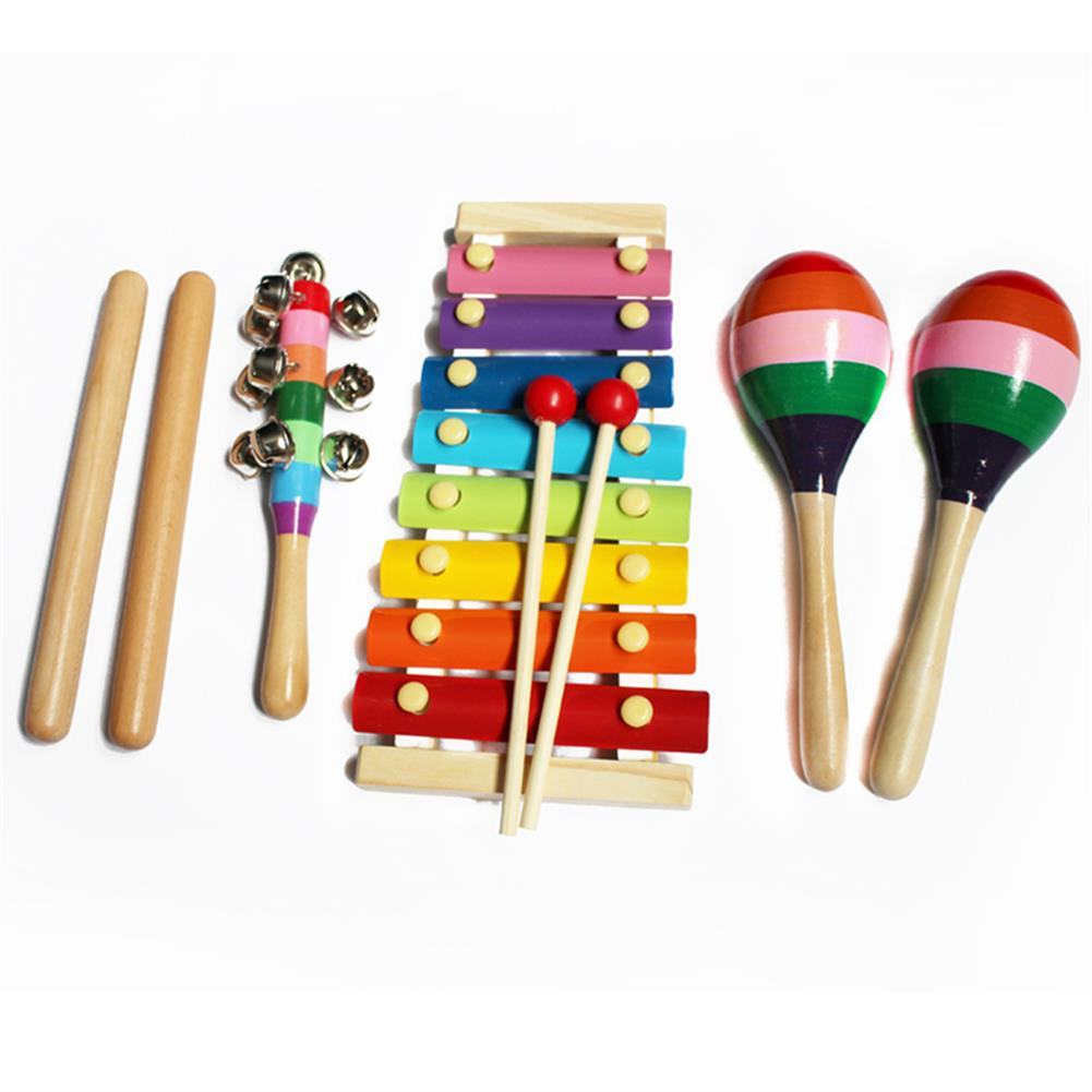 other-learning-office-supplies 14pcs Baby Wooden Musical instruments Toys Children Toddlers Percussion Set Teaching Aid Music for Kindergarten Kids HOB1769166 3 1