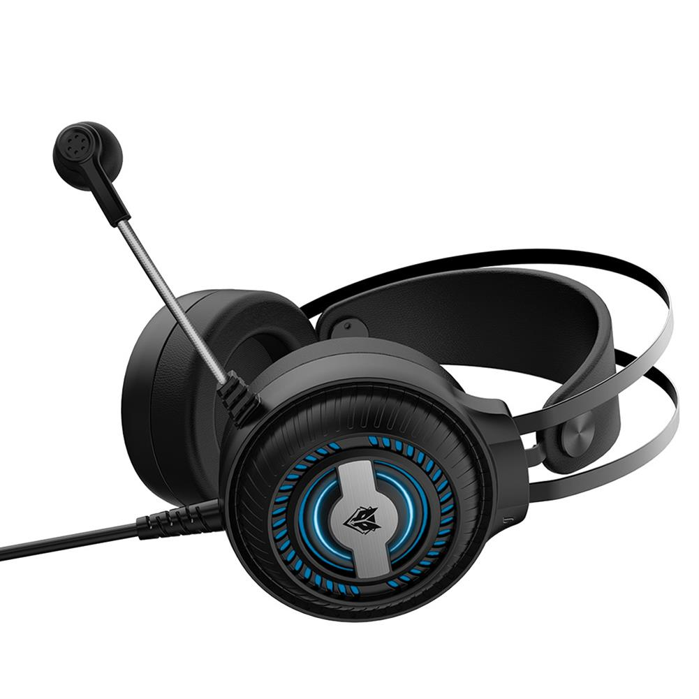 headphones NBWO N1PRO Gaming Headset 50MM Unit E-sport 360 Omnidirectional Noise Reduction Microphonel Colorful Turbo Breathing Light Volume Knob Anti-pull/anti-violence HOB1769521 1 1