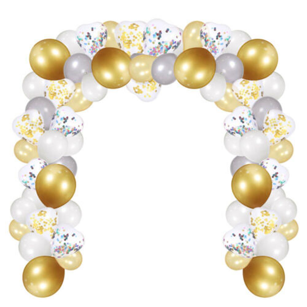 other-learning-office-supplies 249Pcs Balloon Arch Set Golden White Ballon Arch Air Pump Set Birthday Wedding Baby Shower Garland Arch for Home Decor HOB1769853 1