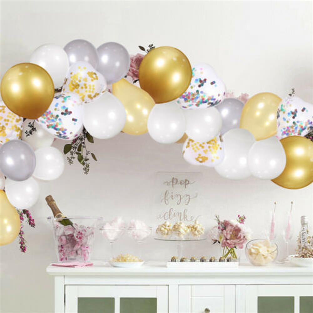 other-learning-office-supplies 249Pcs Balloon Arch Set Golden White Ballon Arch Air Pump Set Birthday Wedding Baby Shower Garland Arch for Home Decor HOB1769853 2 1