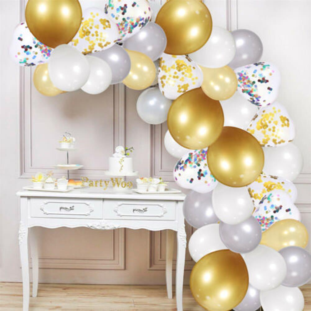 other-learning-office-supplies 249Pcs Balloon Arch Set Golden White Ballon Arch Air Pump Set Birthday Wedding Baby Shower Garland Arch for Home Decor HOB1769853 3 1