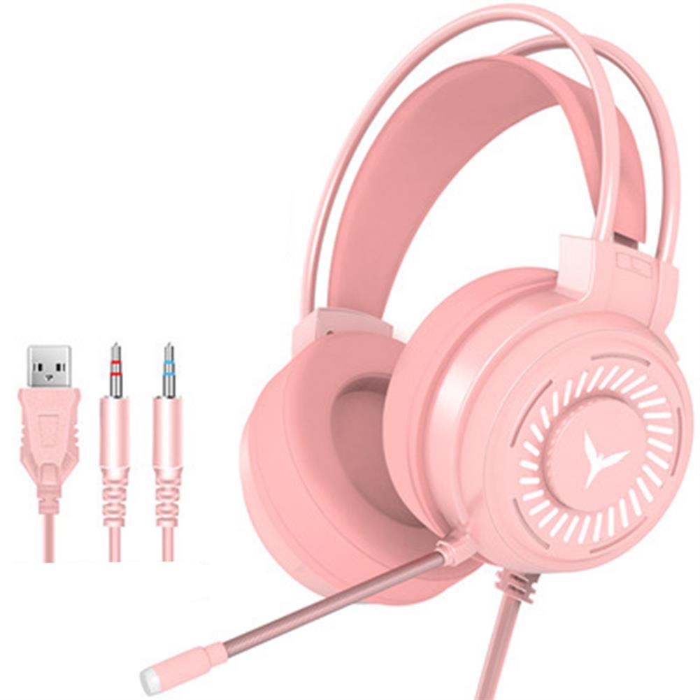 headphones G60 Gaming Headset 7.1 Channel 50MM Speaker Unit Colorful Circular Breathing Light HIFI Cinema Sound 360 Omnidirectional Microphone HOB1769856 1 1