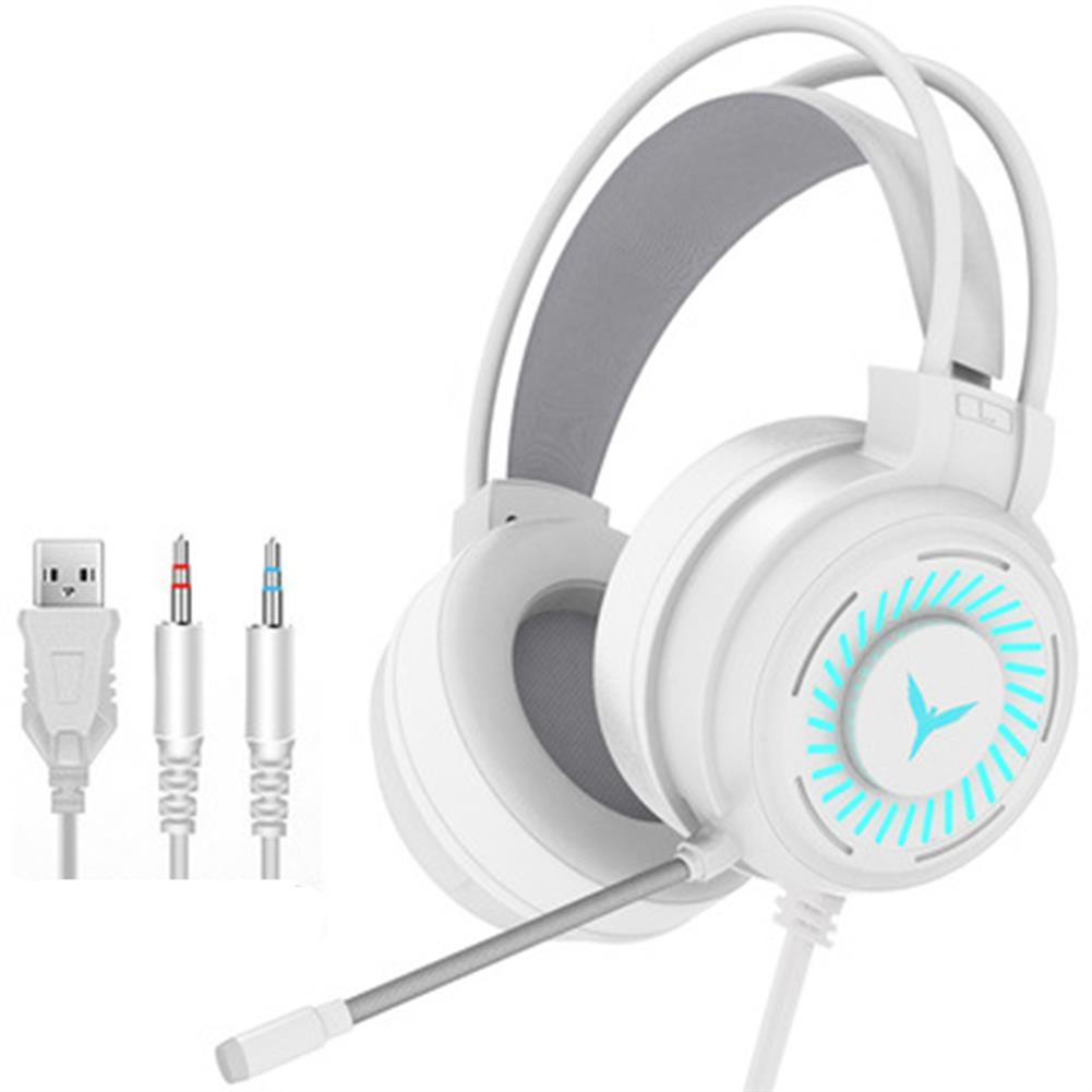 headphones G60 Gaming Headset 7.1 Channel 50MM Speaker Unit Colorful Circular Breathing Light HIFI Cinema Sound 360 Omnidirectional Microphone HOB1769856 2 1