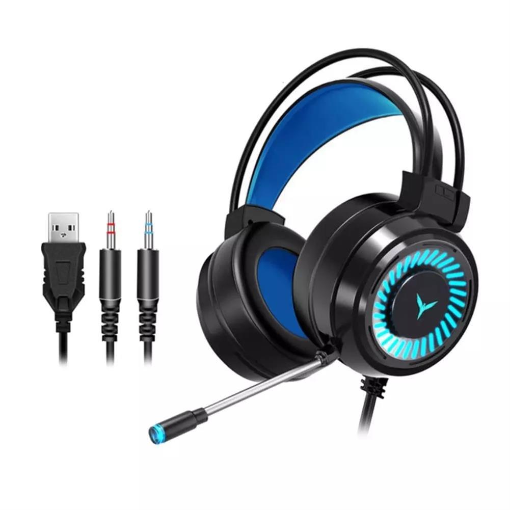 headphones G60 Gaming Headset 7.1 Channel 50MM Speaker Unit Colorful Circular Breathing Light HIFI Cinema Sound 360 Omnidirectional Microphone HOB1769856 3 1