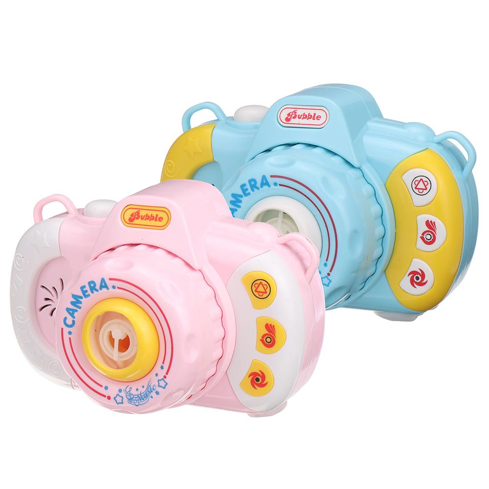 other-learning-office-supplies Children's Bubble Camera Toy Automatic Music Lighting Camera Blowing Bubble for Kids Outdoor Sports Puzzle HOB1769866 1