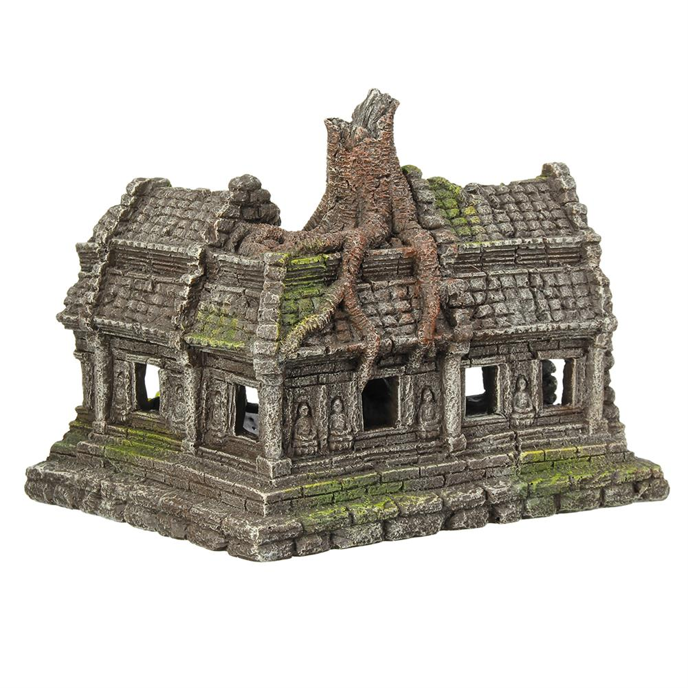 other-learning-office-supplies Resin Sculpture Model Fishtank Decorations Hideing Hole Aquarium Rockery Landscaping Castle for Home Decoration HOB1770255 1 1