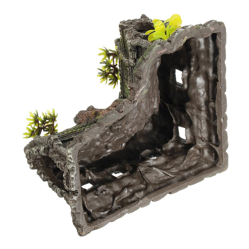 other-learning-office-supplies Resin Sculpture Model Fishtank Decorations Hideing Hole Aquarium Rockery Landscaping Castle for Home Decoration HOB1770255 2 1