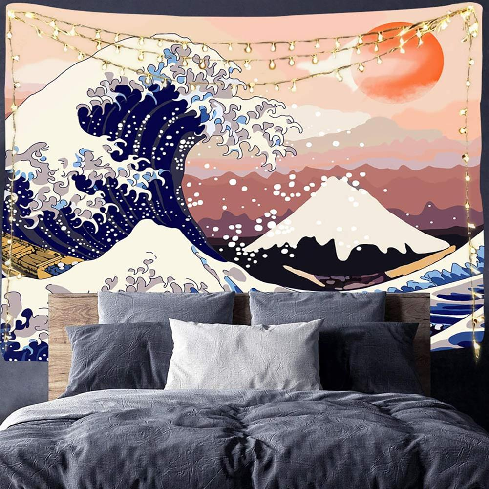 other-learning-office-supplies Japanese Style Tapestry the Great Ocean Wave Tapestry Mount Fuji Wall Hanging Tapestry for Room Dorm Decor HOB1770658 2 1