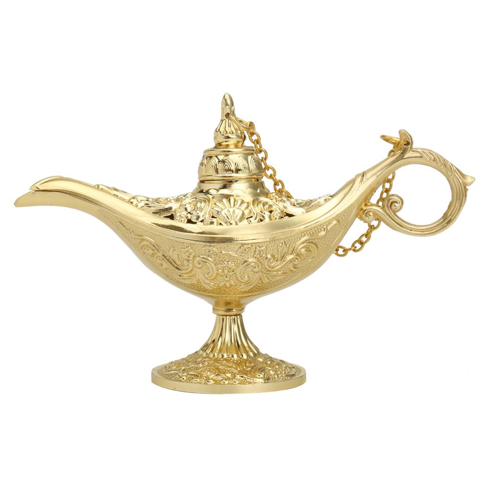 other-learning-office-supplies Vintage Metal Aladin Lamp Magical Aladdin's Genie Lamp Zinc Alloy Table Decoration Classic Arabian Costume Props Lamp for Halloween Party HOB1770930 1