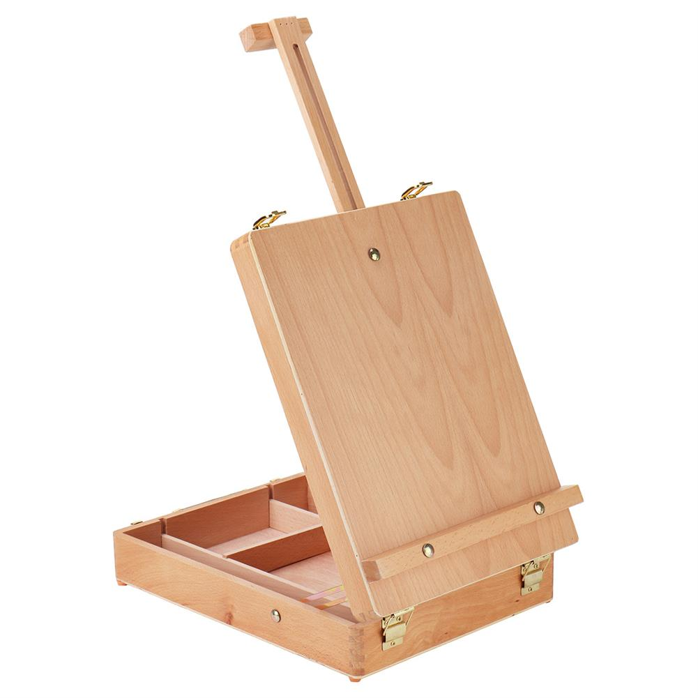 artboard-easel Folding Wooden Easel Sketch Table Stand Adjustable Artist Drawing Board Portable Painting Box Oil Painting Easels Art Supplies HOB1771261 1 1