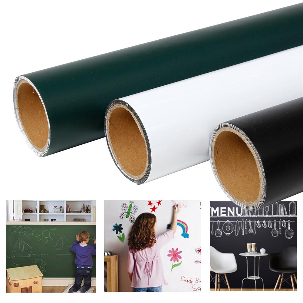 other-learning-office-supplies Magnetic Board Wall Sticker Black/White/Green Removable Magnetic Non-Toxic Sticker Writing Painting Graffiti Board for Children Home Decoration HOB1771270 3 1