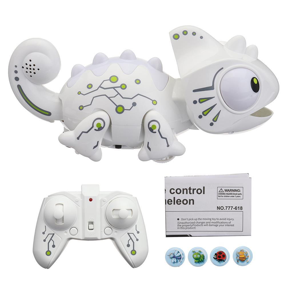 other-learning-office-supplies 2.4G Remote Control Chameleon Toy Pet intelligent Toys for Children Kids Birthday Gift Funny Toy RC Animals HOB1771592 1