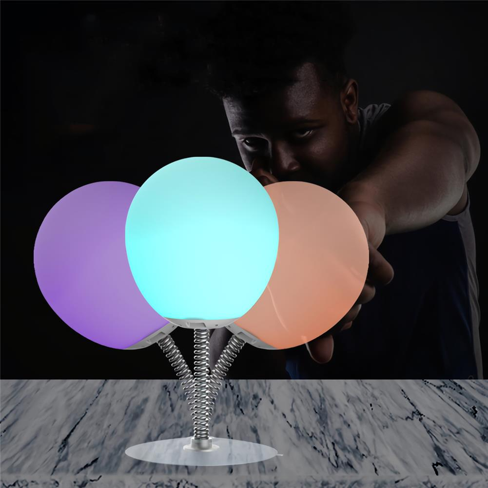 desktop-off-surface-shelves Smart LED Decompression Lamp Colorful Silicone Lamp office Decompression Toy Ball Night Light Anti-stress Artifact HOB1772339 2 1
