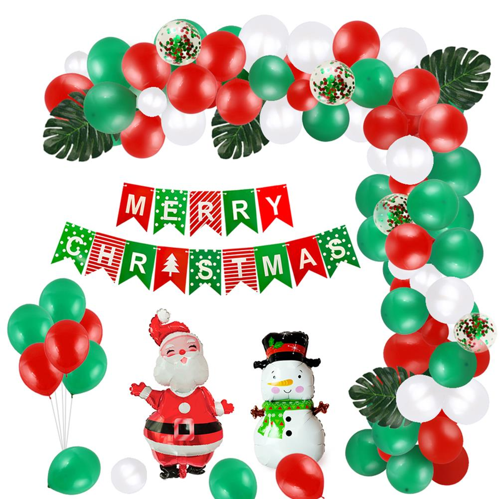 other-learning-office-supplies Christmas Balloon Set Happy Xmas Home Party Decoration with Christmas Flag Creative Scene Layout Supplies HOB1772568 1
