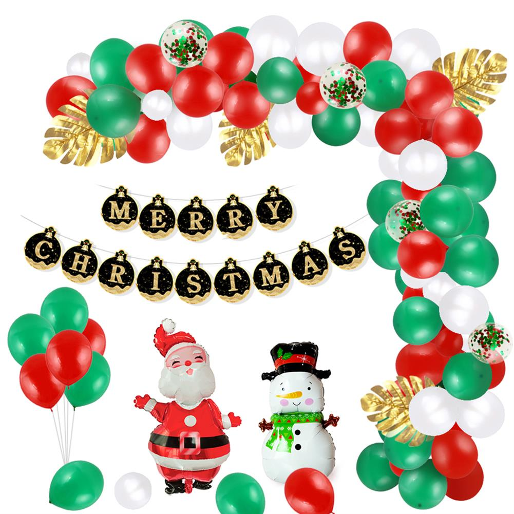 other-learning-office-supplies Christmas Balloon Set Happy Xmas Home Party Decoration with Christmas Flag Creative Scene Layout Supplies HOB1772568 1 1