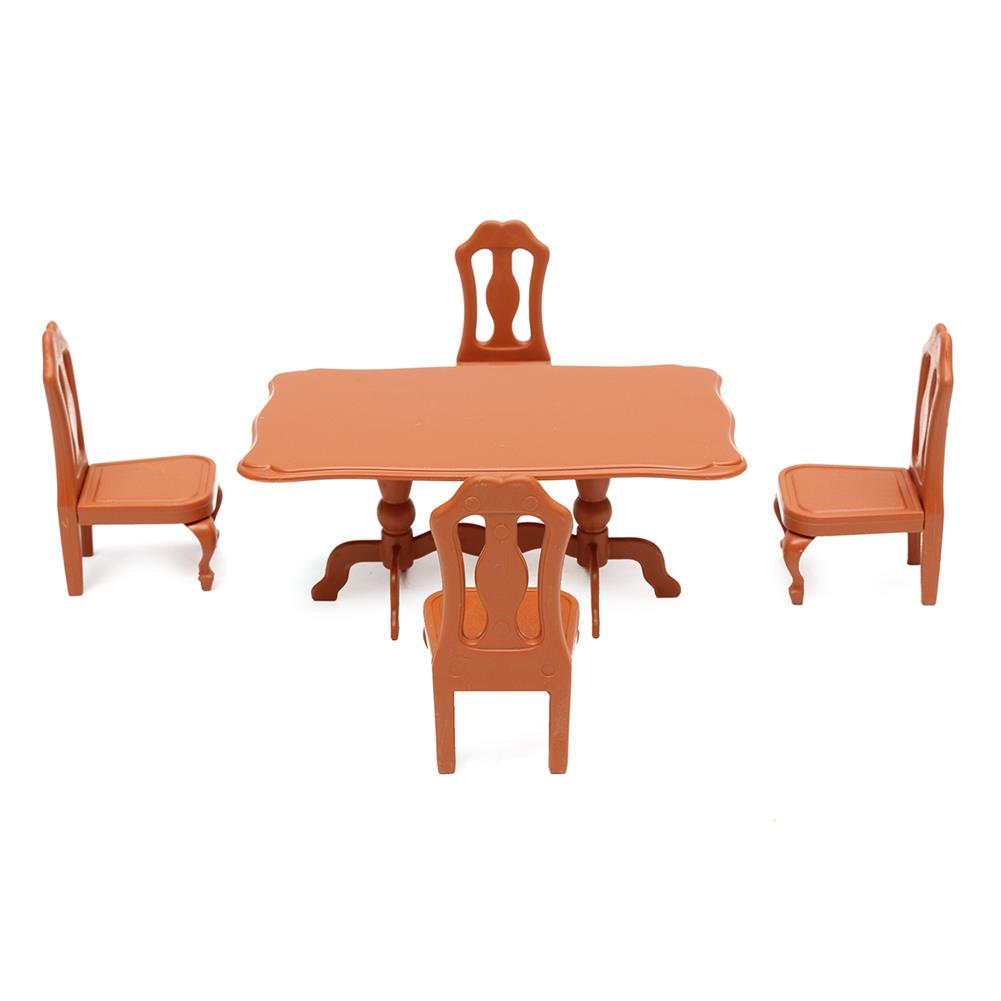 other-learning-office-supplies DIY Miniature Furniture Dollhouse Plastic Tables and Chairs Set Toy Activity Toddler Toy Playing Set for Childrens HOB1772654 1 1