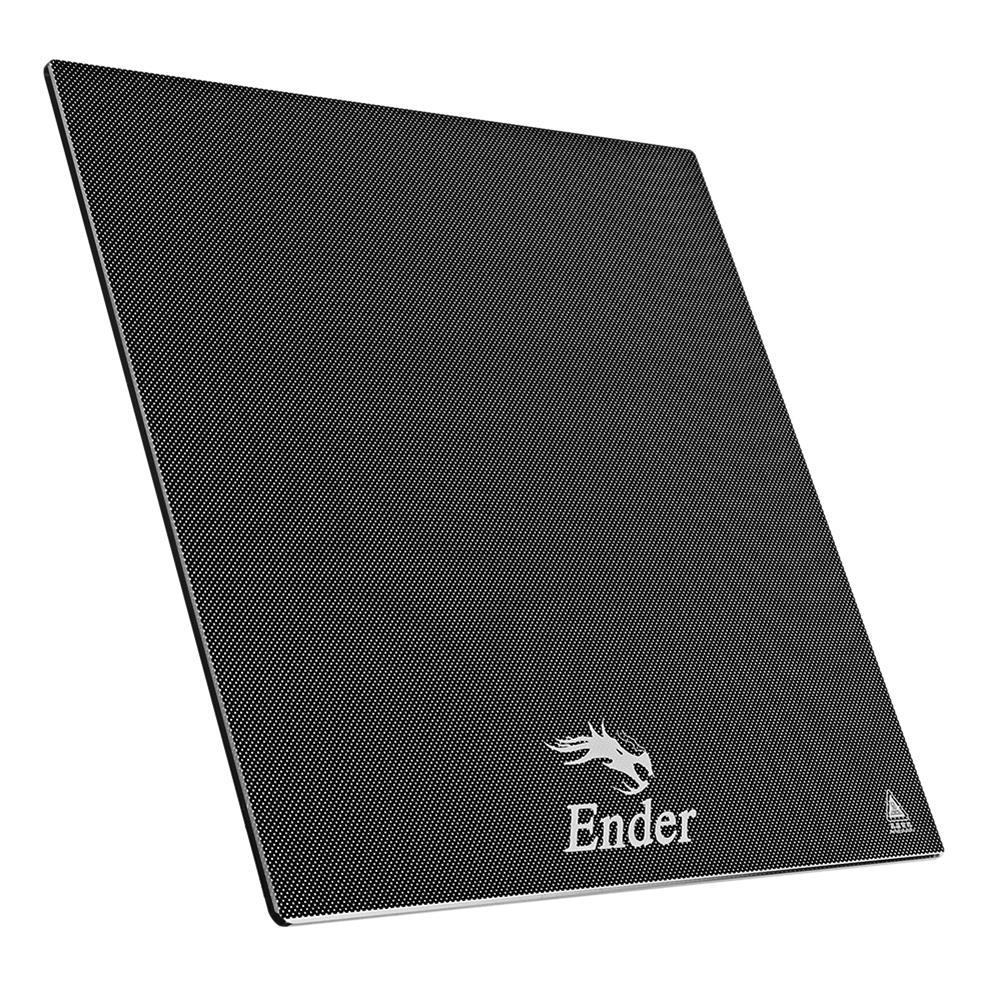 3d-printer-accessories Creality 3D Ender-3 V2 235*235*4mm Carborundum Glass Platform for 3D Printer Part HOB1773333 2 1
