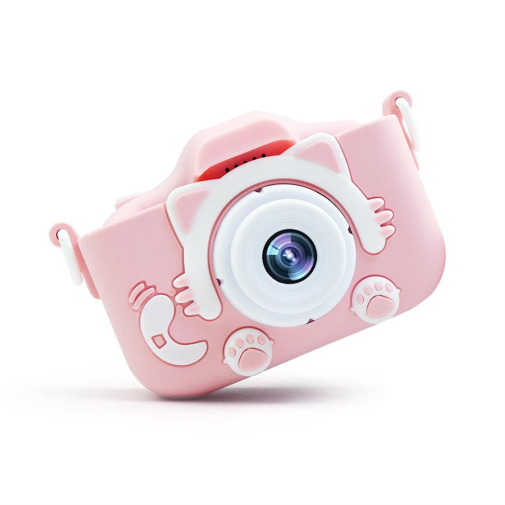 other-learning-office-supplies Mini Kids Digital Camera USB Charging 20 inches 20MP Pixel Small DSLR Motion Camera Toy for Children's Birthday Gifts HOB1773919 1 1