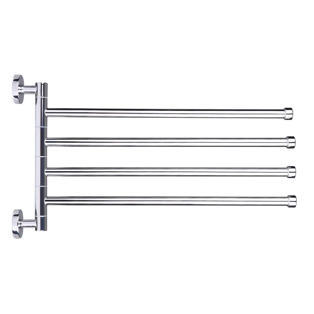 other-learning-office-supplies Bath Towel Rack Stainless Steel 2/3/4 Poles Movable Racks Bathroom Living Room Towel Cloth Holder Home Decoration HOB1774149 1 1
