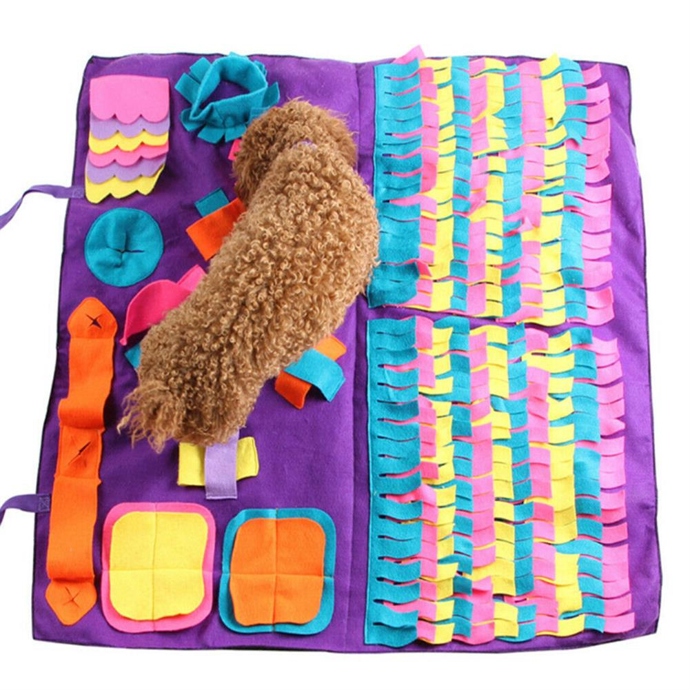 other-learning-office-supplies Dog Pet Snuffle Mat Oxford Cloth Nose Training Sniffing Pad Toys Pet`s Feeding Cushion Blanket Game HOB1774155 1