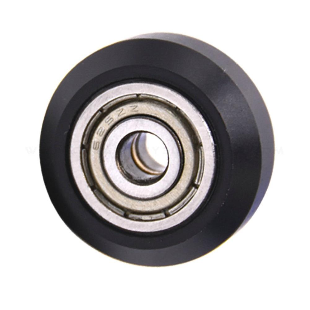 3d-printer-accessories Creativity 10PC Flat Type Openbuilds Plastic Wheel POM with Bearings Big Models Passive Round Wheel Ldler Pulley Gear Perlin Wheel for CR10 Ender 3 HOB1774448 1 1