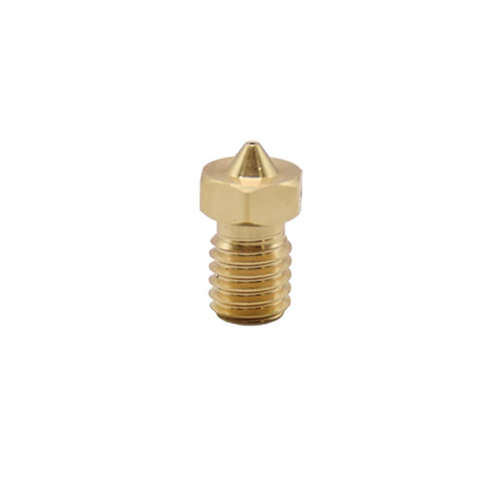 3d-printer-accessories Creativity 2Pcs Quality 3D Printer Nozzle V6 Nozzles for 3D Printers Hotend 3D Nozzle E3D Nozzles Titan J-head Extruder 1.75mm HOB1774463 2 1