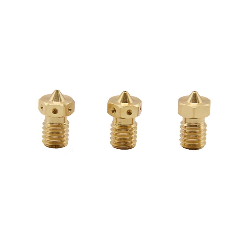 3d-printer-accessories Creativity 2Pcs Quality 3D Printer Nozzle V6 Nozzles for 3D Printers Hotend 3D Nozzle E3D Nozzles Titan J-head Extruder 1.75mm HOB1774463 3 1
