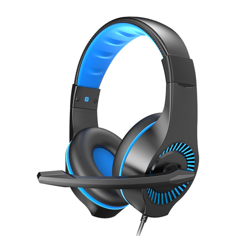 headphones E-622 Gaming Headset 40mm Unit Stereo Surround Sound 120 Degrees adjustable Full Pickup Microphone 3.5mm interface+USB HOB1774597 1