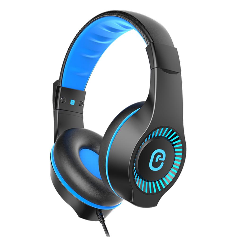 headphones E-622 Gaming Headset 40mm Unit Stereo Surround Sound 120 Degrees adjustable Full Pickup Microphone 3.5mm interface+USB HOB1774597 1 1