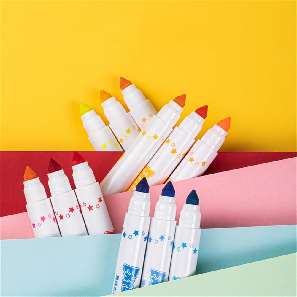watercolor-paints Deli 12/24 Colors Watercolor Pen Set Art Marker Painting Pens Brush School Supplies Stationery Children Creative Gift HOB1774643 3 1